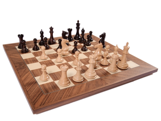 how to build a wooden chess board